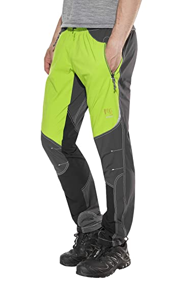 Karpos Rock Pants Men Apple Green Dark Grey 2018 Hose lang  Amazon ... e2fe05d012