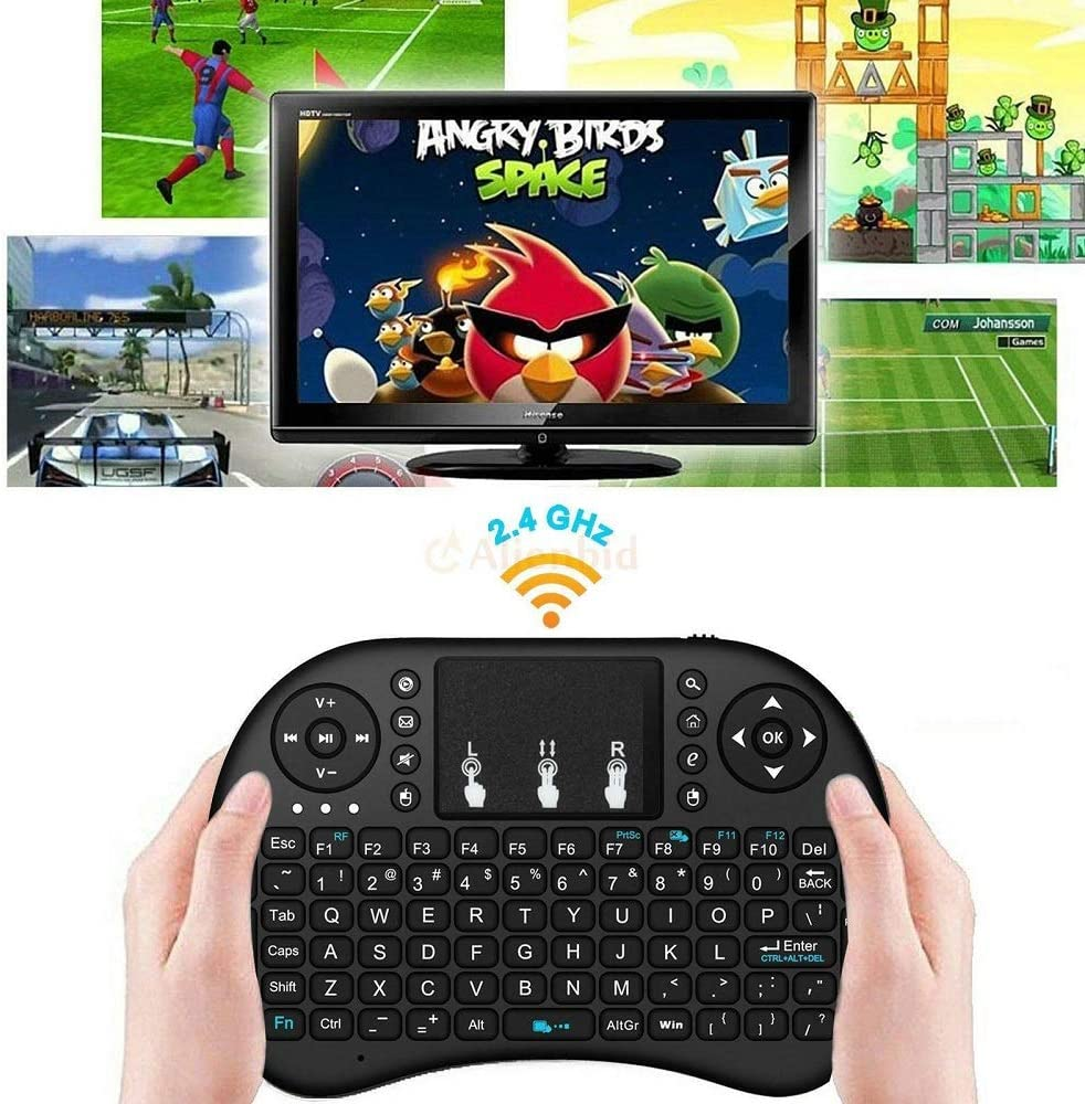 Useful for Smart TV Top Good 2 Pcs LED 2.4G Mini Wireless Keyboard Mouse #ABTY