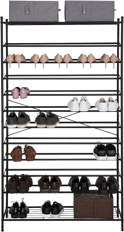 Zapatero metálico Songmics para 60 pares de zapatos
