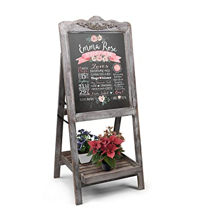 flexzion a-frame - Chalkboard sign rústico de madera ...