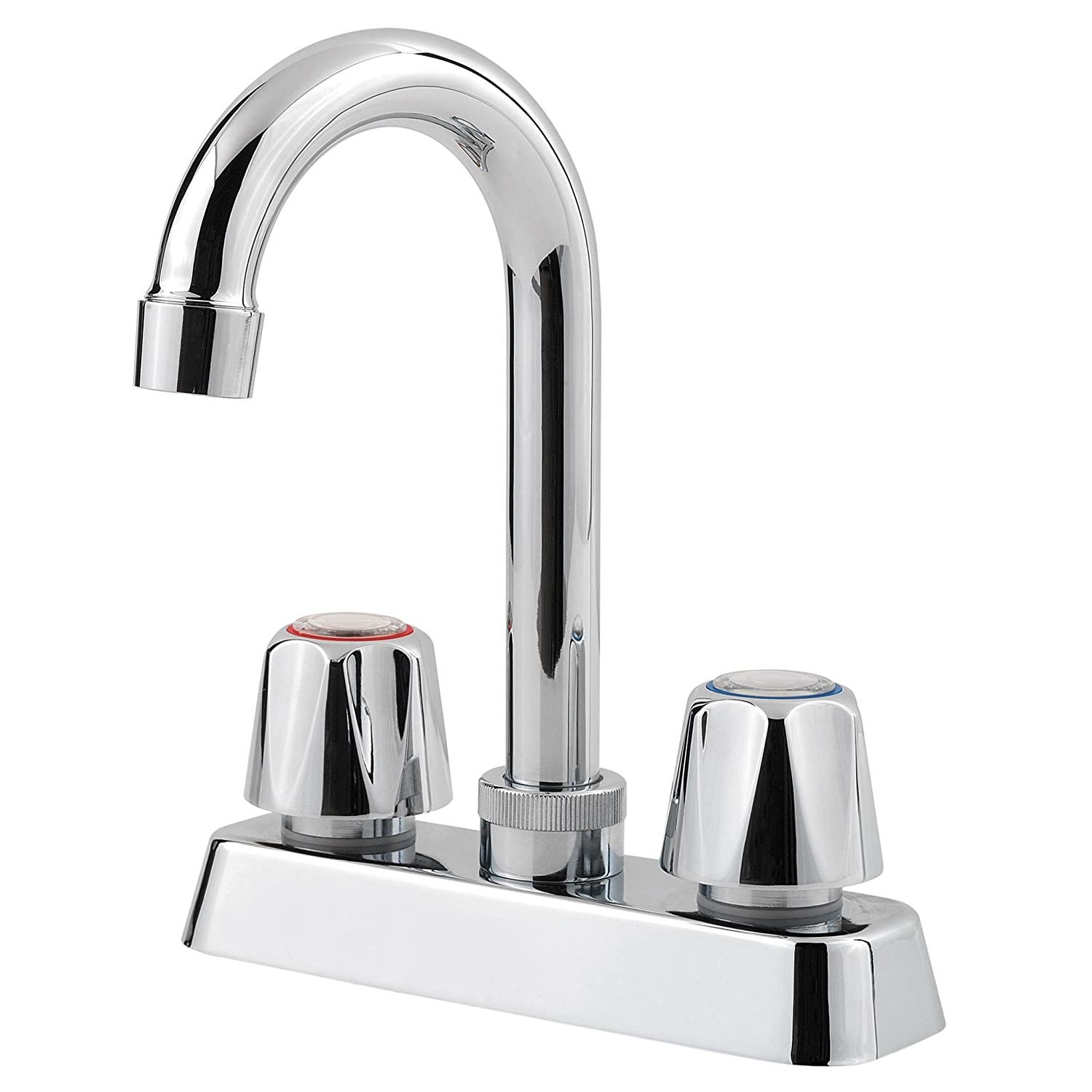 Pfister Pfirst Series 2-Handle Bar/Prep Kitchen Faucet, Polished Chrome