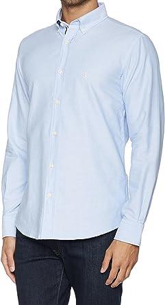 El Ganso 1050W170006 Camisa Casual, Celeste, 39 para Hombre: Amazon.es: Ropa y accesorios