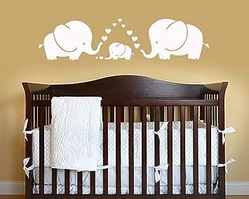Amazon.com: ALiQing Three Cute Elephants Parents and Kid ...