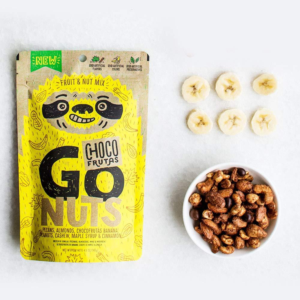 Go Nuts Banana - Semillas Mixtas con Choco Frutas: Amazon ...