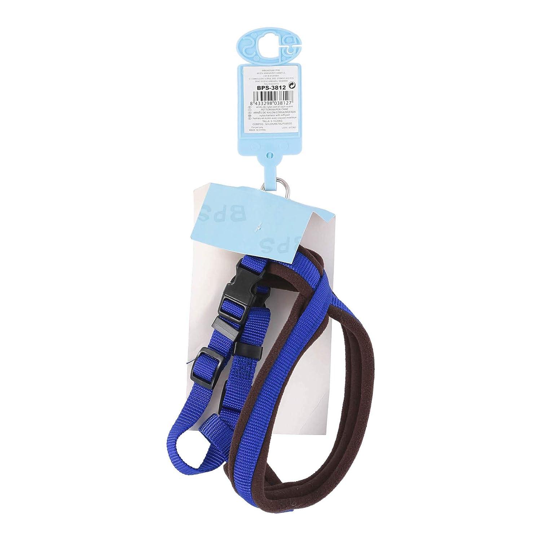 Buonapet Shop - Arnés para Perros Azul y marrón, Talla S 10-20 kg ...