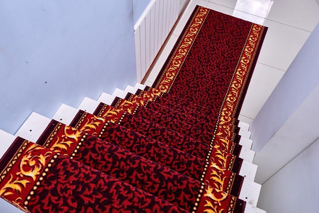 tapis de chevet de chambre /à coucher de salon taille : 1.1M*10M tapis descalier de couloir dh/ôtel de style europ/éen Tapis dall/ée tapis de tapis anti-d/érapant commercial