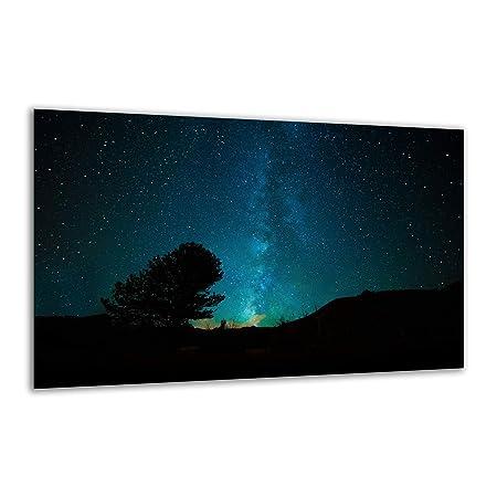 Placa de vitrocerámica, 80 x 52 cm, Color Negro, Placa de cocción ...
