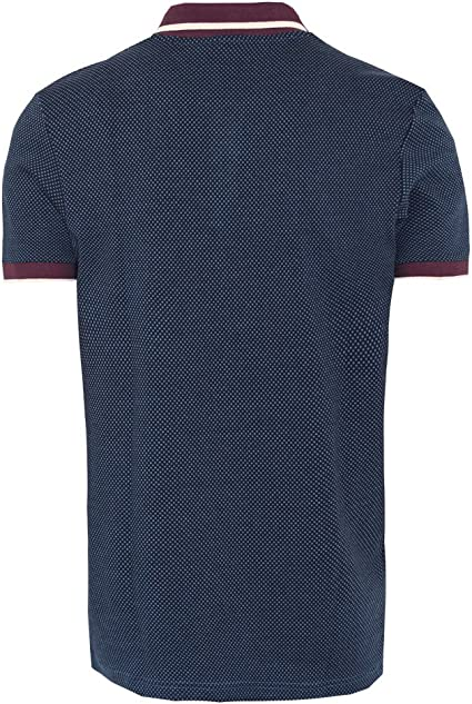 Merc of London - Polo - para Hombre Azul Small: Amazon.es: Ropa y ...
