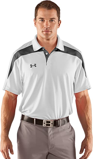 Under Armour Mens coolong sleevewitch Graphic Polo
