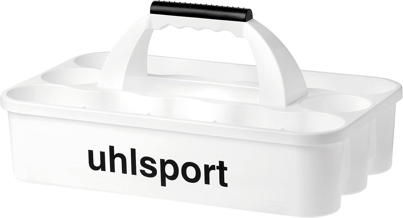 Uhlsport 100121003 Portabotellas, Blanco, Talla Única