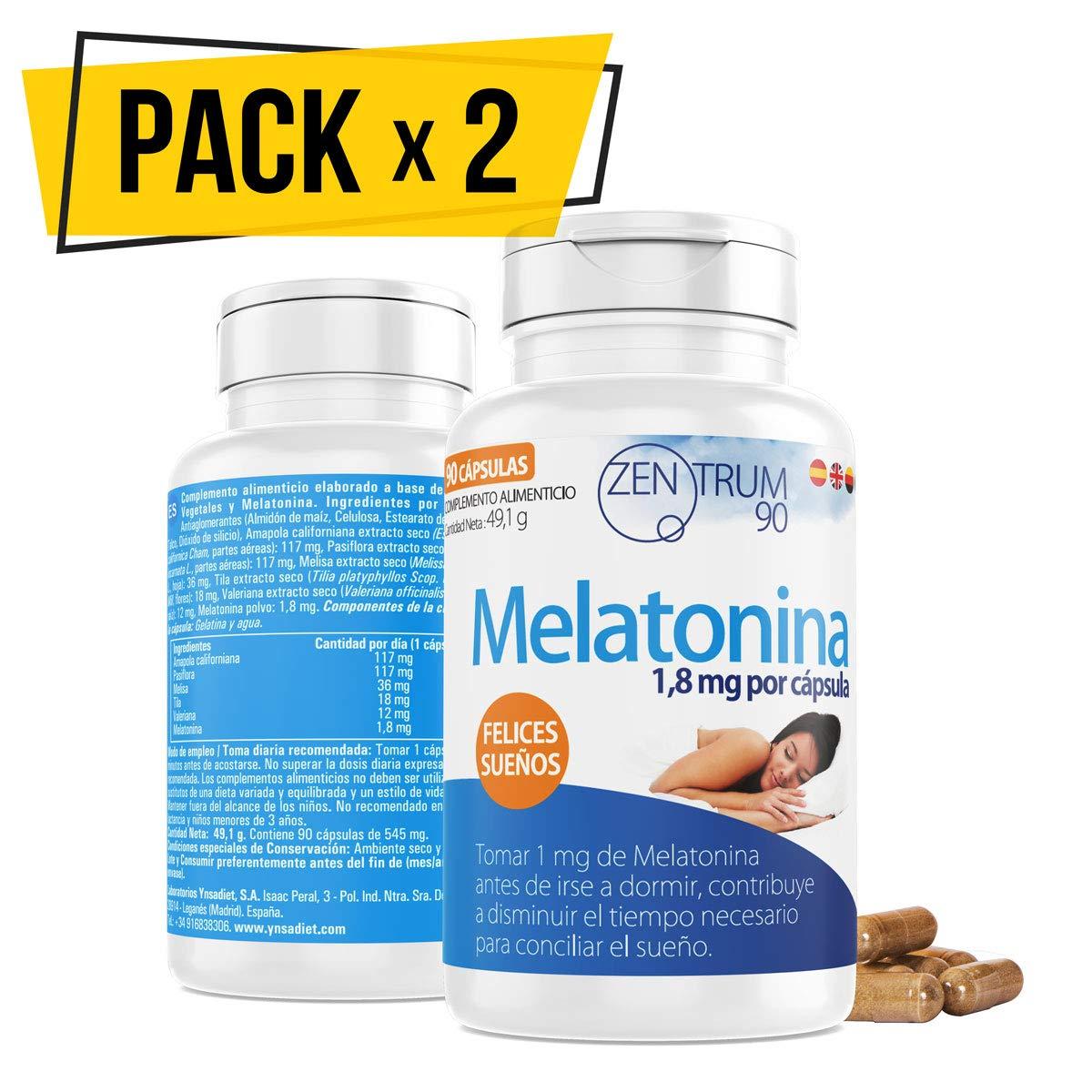 Melatonina ✔️ Valeriana ✔️ Tila ✔️ Pasiflora