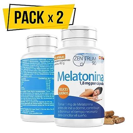 Melatonina Pack de 2 unidades