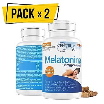 Melatonina Pack de 2 unidades: Amazon.es: Salud y cuidado personal