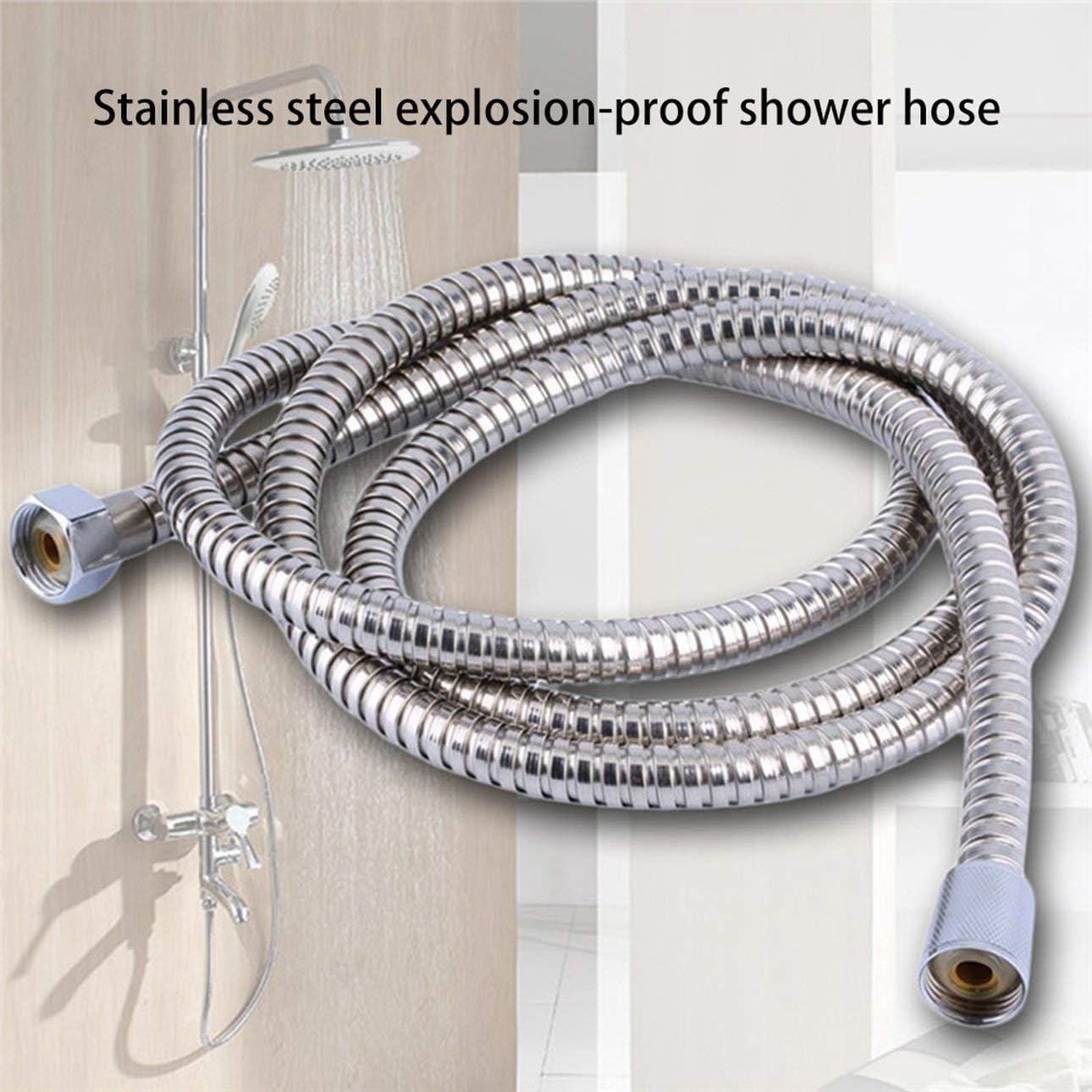 Ballylelly Tuyau flexible de salle de bains dacier inoxydable de tube de douche de plomberie avec la r/ésistance /à hautes temp/ératures