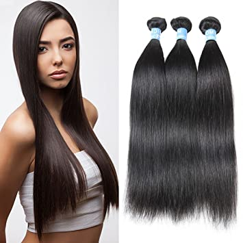 Amazon morica hair 7a brazilian virgin straight hair 3 morica hair 7a brazilian virgin straight hair 3 bundles cheap human hair weave extensions unprocessed pmusecretfo Images