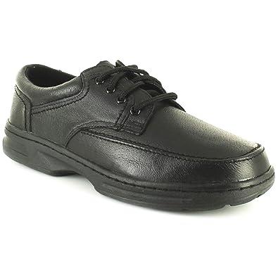 Dr Keller - Zapatos de cordones de cuero para hombre gris gris, color gris, talla 44