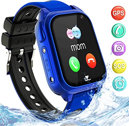 Impermeable GPS Smartwatch para Niños, IP67 Impermeable Reloj ...