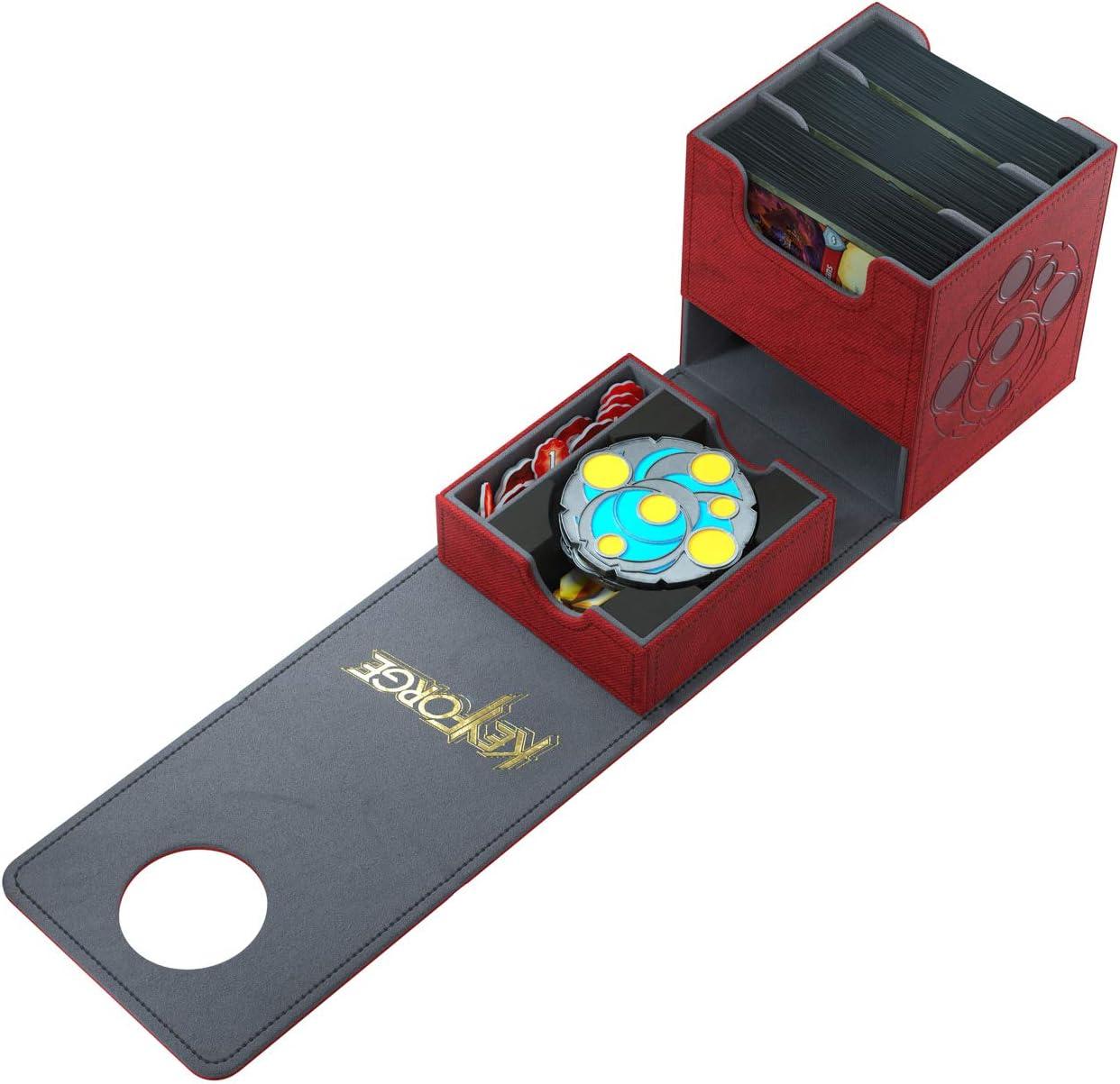 120ct GAMEGEN!C Deck Box Keyforge Vault Red