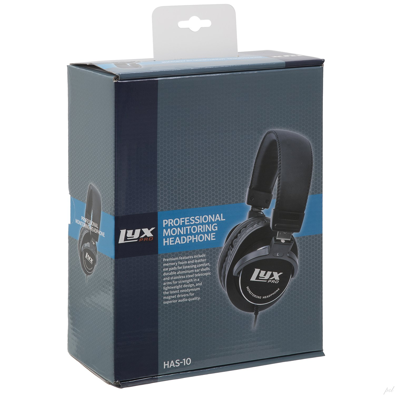 LyxPro HAS-10 Closed Back Over-Ear Professional Studio Monitor & Mixing Headphones,Music Listening,Piano,Sound Isolation, Lightweight by LyxPro (Image #8)