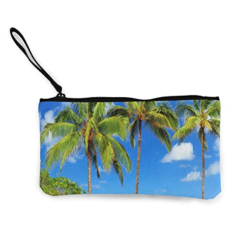 Amazon.com: Monedero de Palmas en Kauai Hawaii para mujer ...