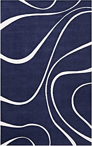 Modway Therese Abstract Swirl 8×10 Area Rug Contemporary Design