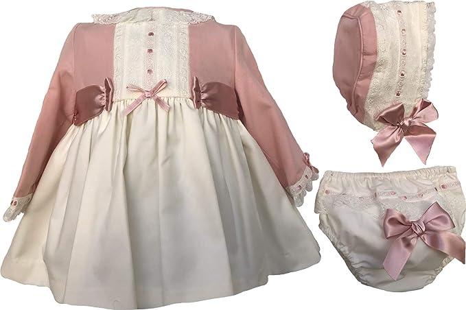 DOLCE PETIT - Vestido Ceremonia con Capota Y Braguita bebé-niños ...