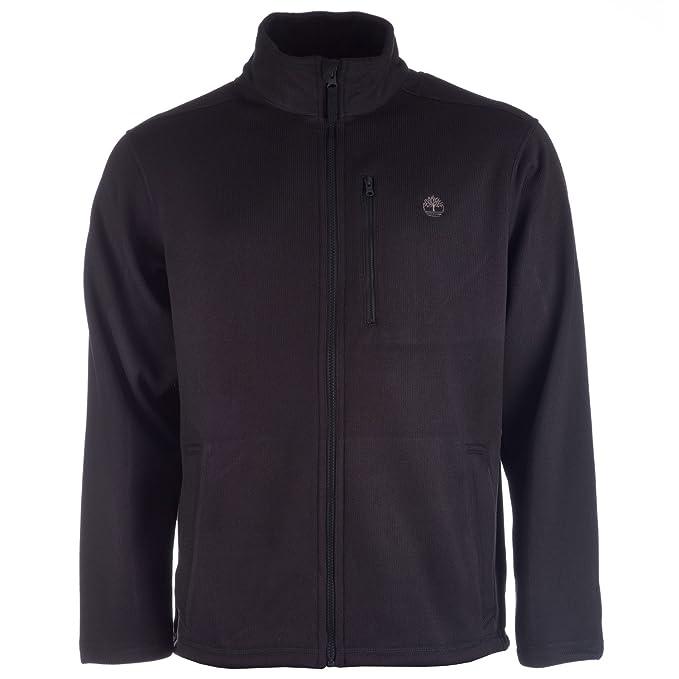 Timberland para hombre Active chaqueta de forro polar negro ...
