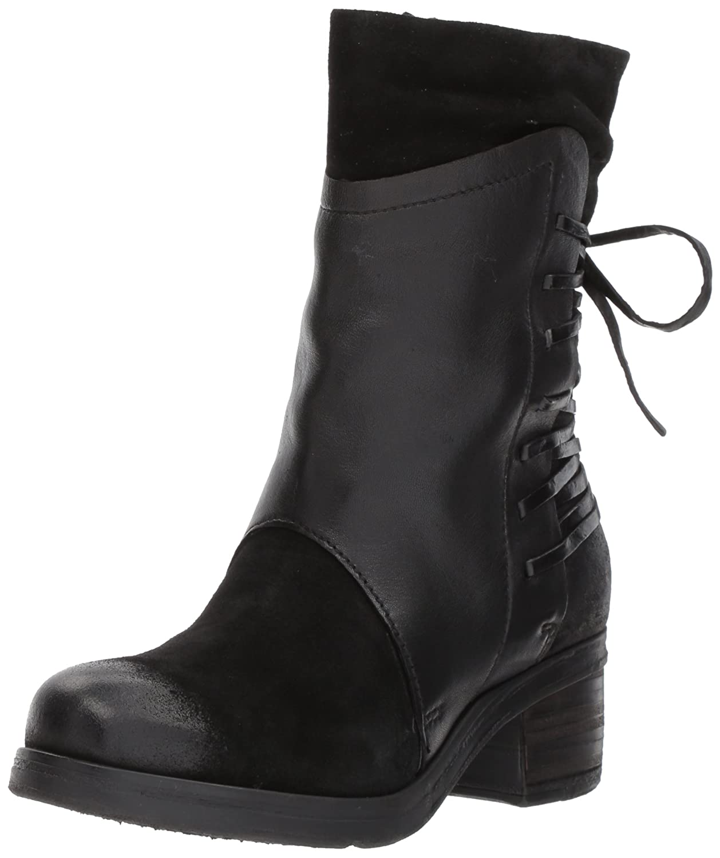 Miz Mooz Women's Sakinah Fashion Boot B06XP63MP6 38 M EU (7.5 US) Black