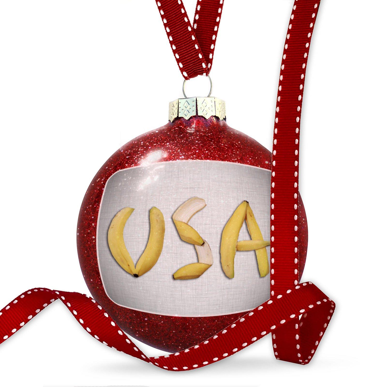 Christmas Decoration United States of America Bananas Ornament