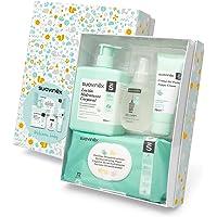 Suavinex – Canastilla de cosmética para bebé/Canastilla de regalo para recién nacido. Crema pañal 75ml + Loción…