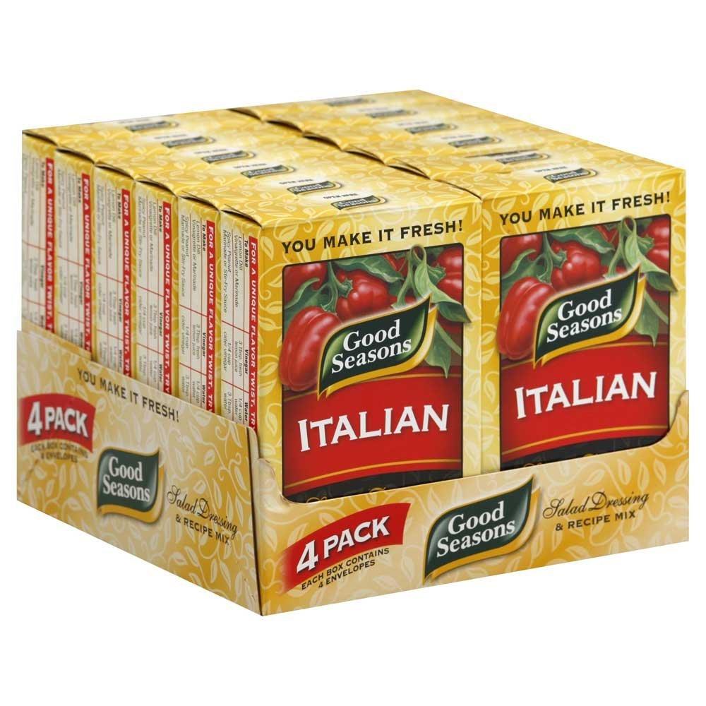 Good Seasons All Natural Italian Salad Dressing and Recipe Mix, 2.8 Ounce -- 24 per case. by Good Seasons
