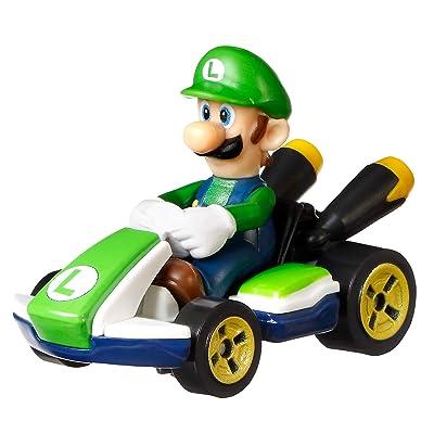 Hot Wheels Luigi Kart: Toys & Games