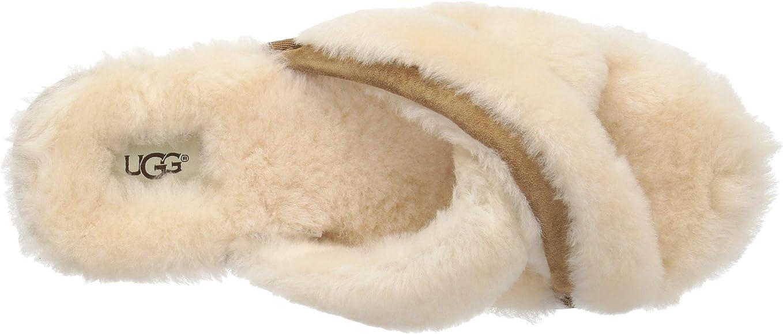 6396a800e Amazon.com | UGG Women's Abela Slip on Slipper, Natural, 5 M US ...