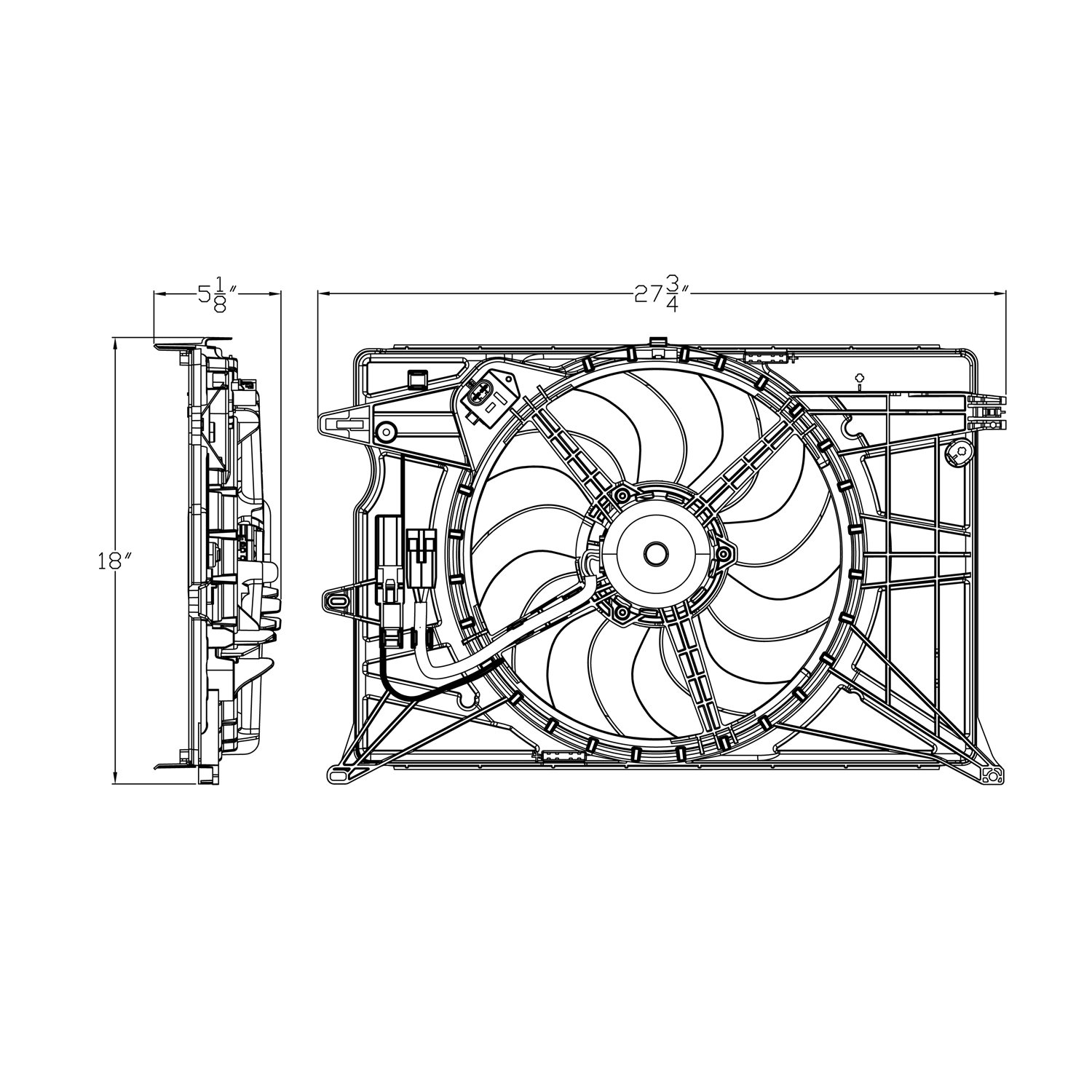 Amazon.com: CPP Radiator Cooling Fan embly for Fiat 500X, Jeep ... on block diagram, motor components diagram, electric motor diagram, ge 469 multilin menu diagram, motor oil diagram, motor output curve, motor connections diagram, motor engine diagram, craftsman table saw diagram, idec relays diagram, motor controller diagram, 12 lead motor diagram, electrical motor diagram, motor control diagram, motor parts diagram, 9 wire motor diagram, circuit diagram, motor guide, motor data sheet, motor overload relay diagram,