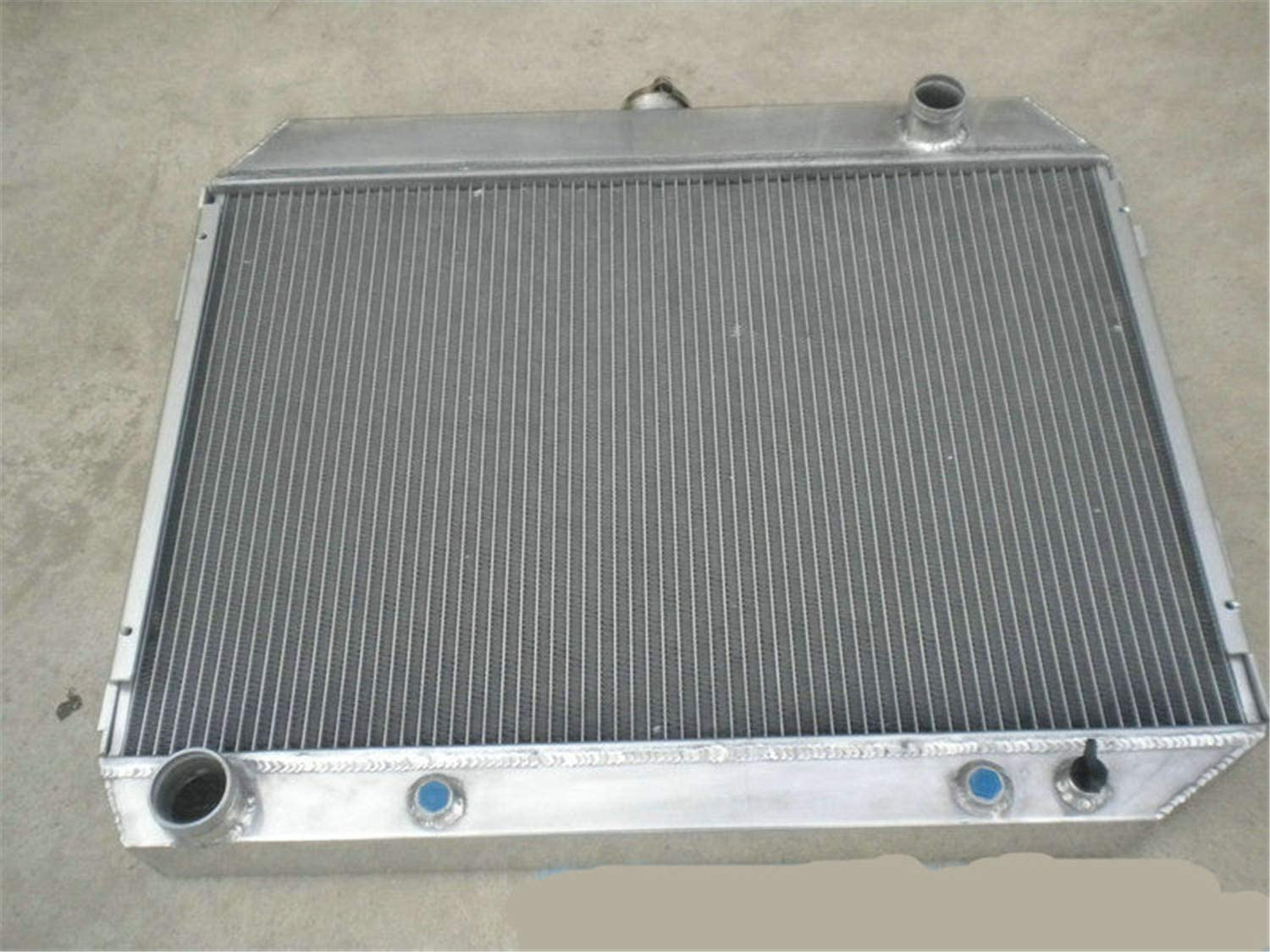 3 Row All Aluminum Radiator for 1968-1973 Dodge Charger 1968-1972 Plymouth GTX