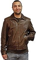Kobe Italian Lamb Zip Front Jacket a creation of San Diego leather