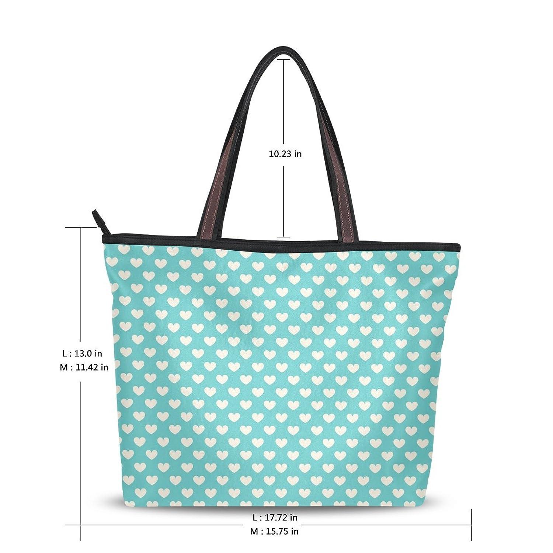 WHBAG New Design Handbag For Women,Love Polka Dot Striped,Shoulder Bags Tote Bag