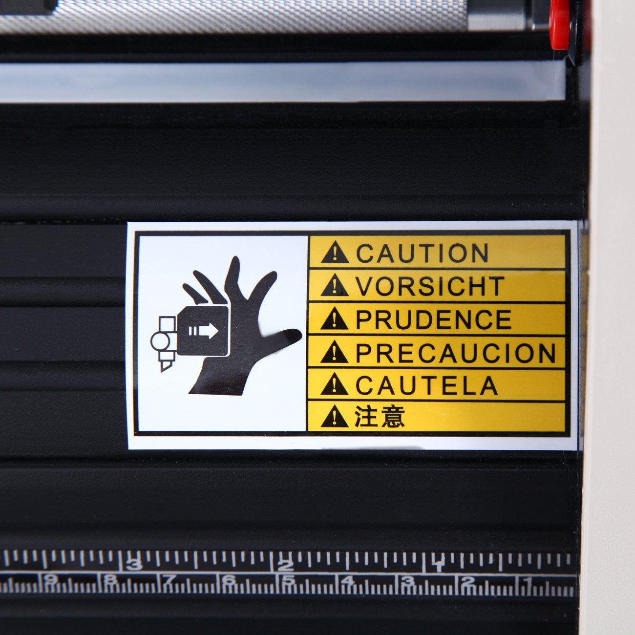 Paneltech 28 inch Cortador de vinilo LCD USB Plóter de corte con escáner vinilo de corte vinilo gráfico Car Wrap Cutting Tool Aplicación: Amazon.es: Hogar