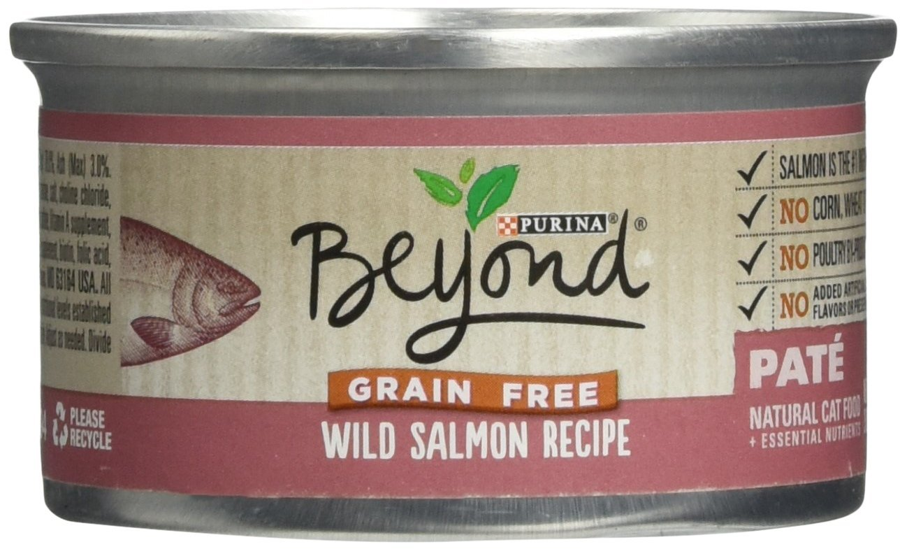 Beyond Dry Cat Purina Grain Free Wild Salmon Recipe Can, 3 oz
