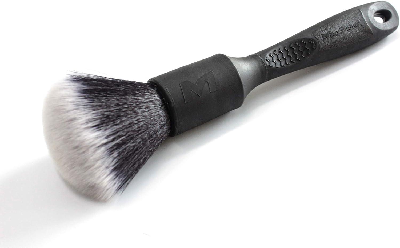 Maxshine Ever So Soft Handle Length: 5.12 in.//13 cm ESS Detailing Brush Bristle Length: 1.77 in.//4.5 cm