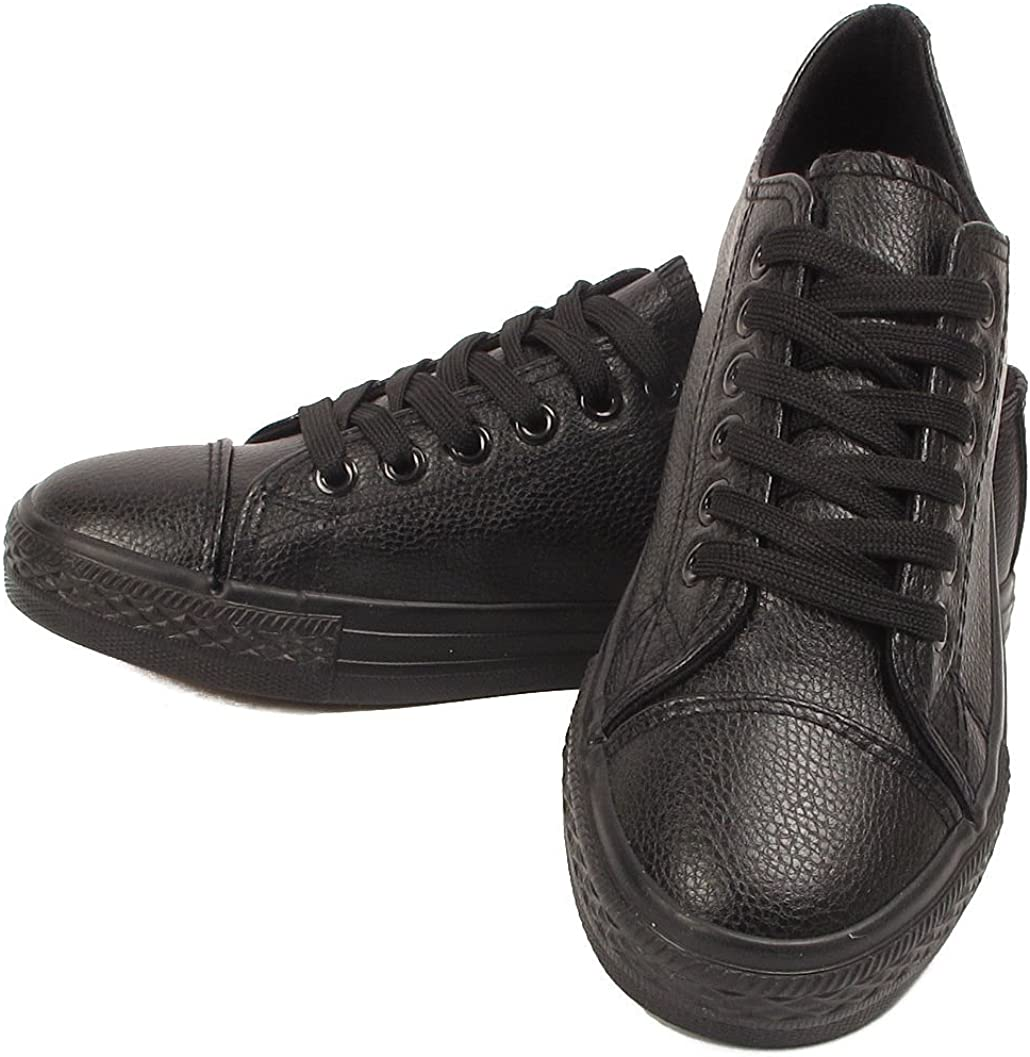 Womens Ladies Trainer Faux Leather