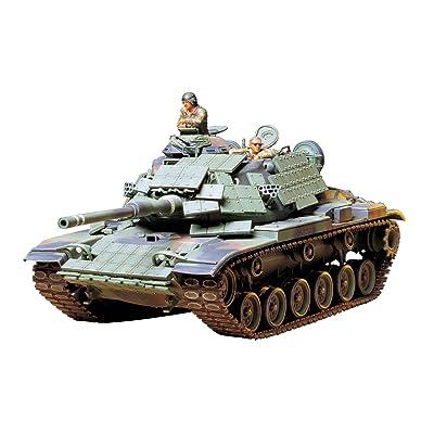Tamiya 35157 1/35 U.S. Marine M60A1 Tank Plastic Model Kit: Toys & Games