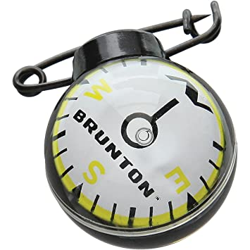Amazon.com: Brunton Tag Along bola Brújula: Sports & Outdoors