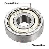 uxcell 629ZZ Deep Groove Ball Bearing Double Shield