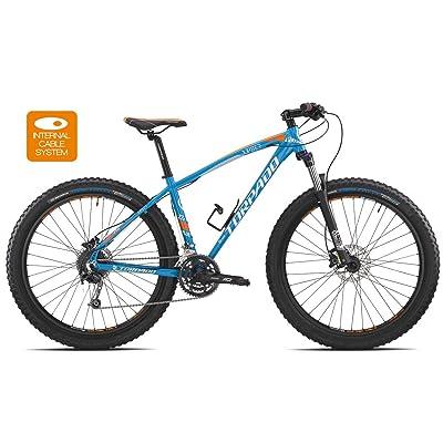 "'Torpado vélo MTB 27,5""Plus Jupiter alu 3x 8V Disque taille 44Bleu (VTT ammortizzate)/Bicycle VTT 27,5Jupiter plus alu 3x 8S disc Size 44Light Blue (VTT Front Sus"