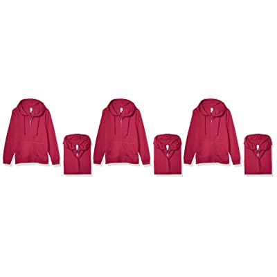 AquaGuard Women's Full-Zip Hoodie-3 Pack: Clothing