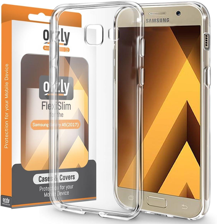 Funda Galaxy A5 2017, Orzly® - FlexiCase para Samsung Galaxy A5 SmartPhone (2017 Modelo Teléfono Móvil): Amazon.es: Electrónica