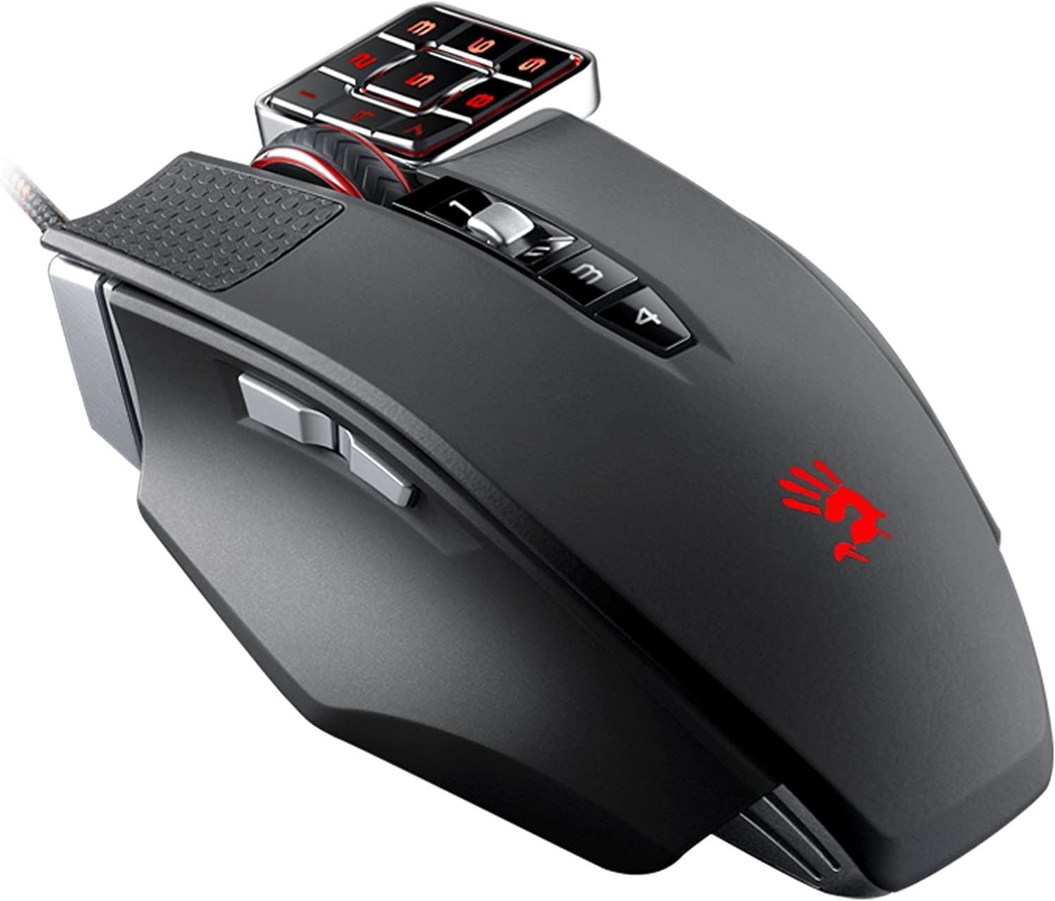 Gaming Mouse With Number Pad