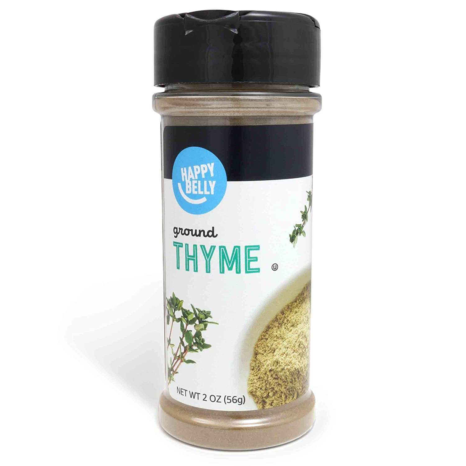 Amazon Brand - Happy Belly Thyme, Ground, 2 Ounces