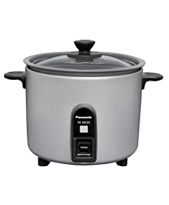 Panasonic Mini Cooker (1.5Go / 225g) SR-MC03-S (SILVER)【Japan Domestic Genuine Products】 【Ships from Japan】